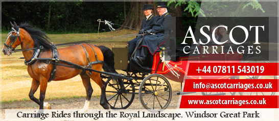 ascot carriages rides through Windsor Great Park