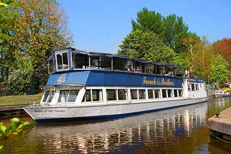 Boat trips from Runnymede to Windsor