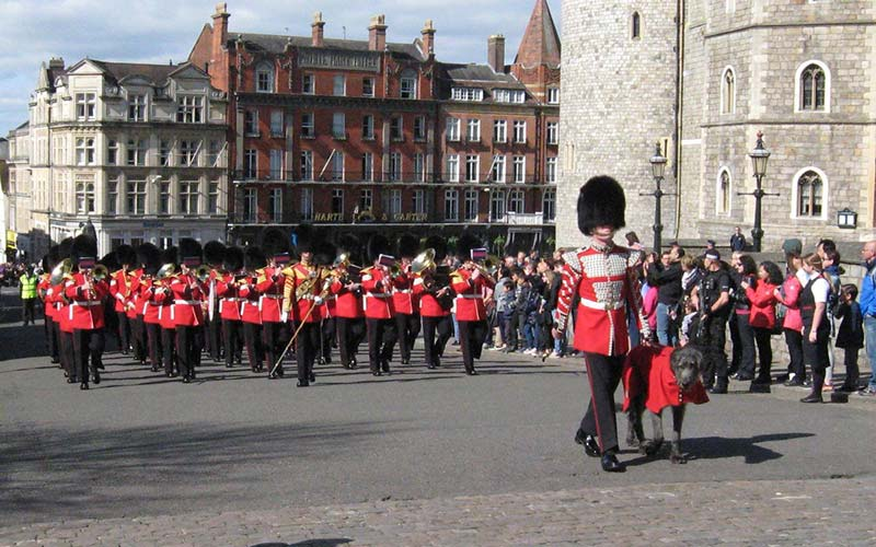 Marching-Windsor-Town-Centre-Berkshire